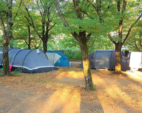 Camp-site pitches