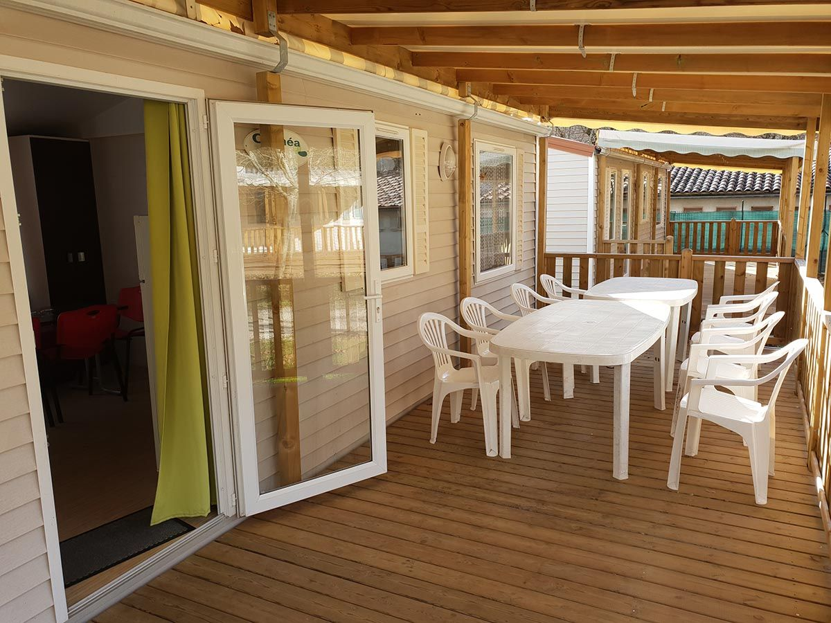 Mobil-home 7/8 personnes