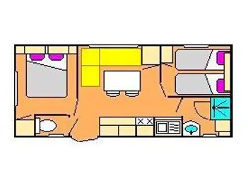 Mobil-home 6/7 personnes