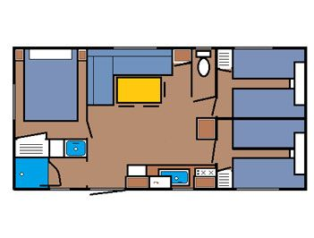 Mobil-home 6/8 personnes